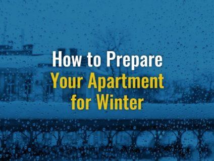 Preparing An Apartment For Winter
